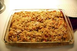 Rhubarb Pan Cake